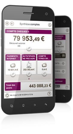 Applications bancaires professionnelles