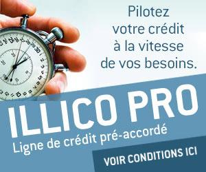 Ligne de crédit pré-accordé Illico Pro