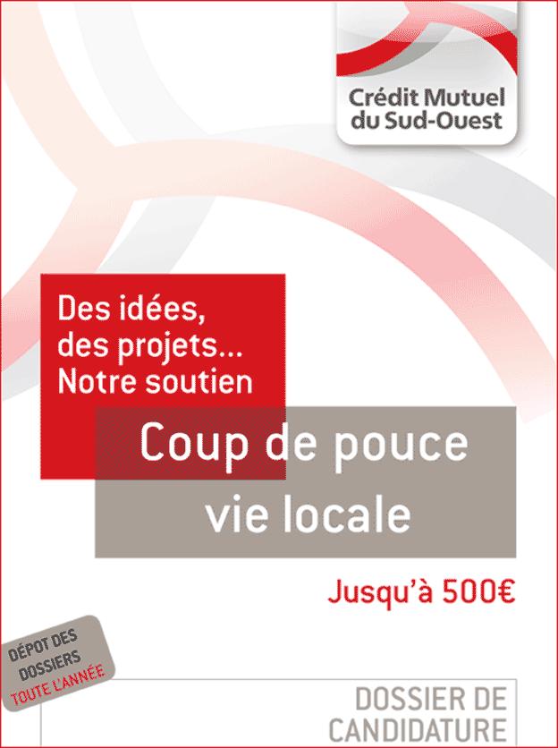 Dossier de candidature au Coup de pouce Evénement local