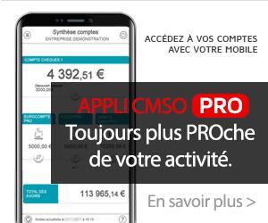 Appli CMSO Pro, toujours plus proche de votre activité.