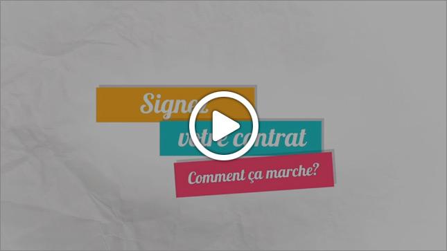 Vidéo : la signature électronique, comment ça marche
